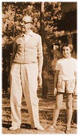 Calamandrei Piero e Silvia in una foto d'epoca